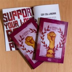 """Versió física del fanzine """"La Llavoreta"""" edició estiu 2021"""
