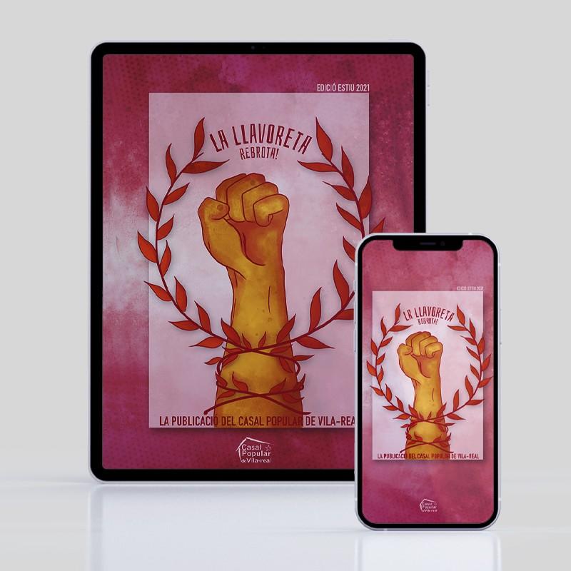 Previsualització de la versió digital de La Llavoreta